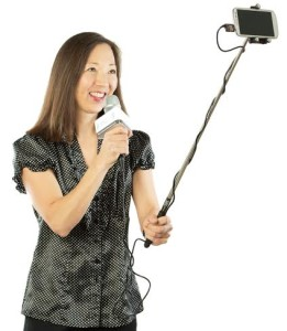 Seattle's Jolene Jang posts videos on how to use camera sticks and has made them part of her business. (Photo courtesy of Jolene Jang)
