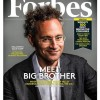 Palantir CEO Alex Karp on the cover of Forbes magazine.