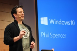 Microsoft games chief Phil Spencer. (GeekWire File Photo)