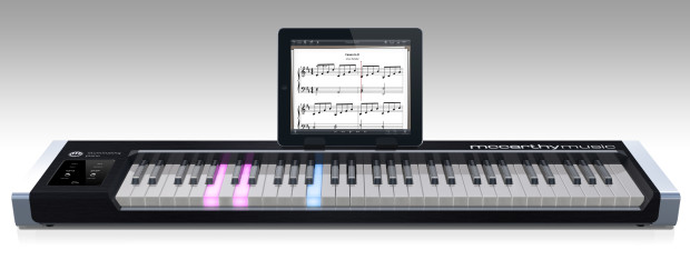 New 'Illuminating Piano' works with iPad or Windows to light