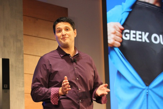 Terry Myerson, head of Microsoft's new Windows and Devices group.