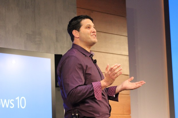 Microsoft executive Terry Myerson.
