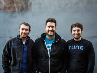 Lucas Brown, Peter Hamilton and Lee Brown of Tune