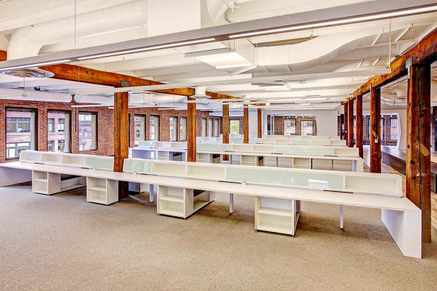 Inside Galvanize, a new co-working space in Seattle.