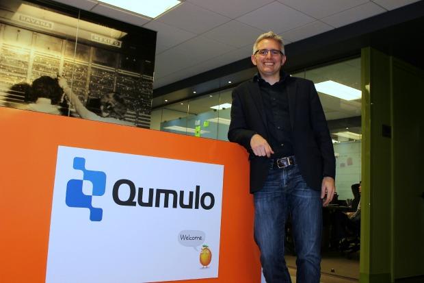 Qumulo CEO Peter Godman.