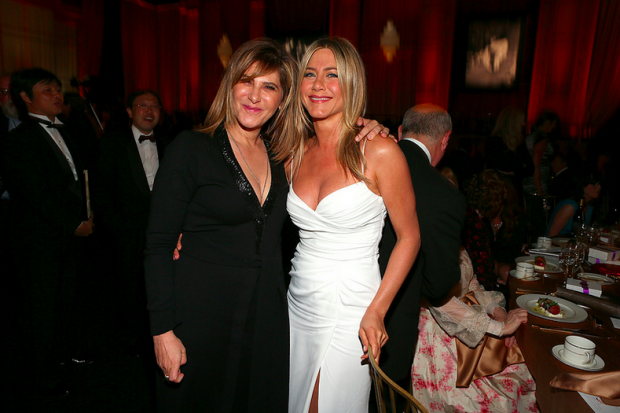 Happier times for Pascal, here with Jennifer Aniston in 2012/Photo via Flickr/My*Obsession