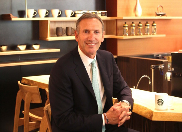 leaderhsip schultz and starbucks In this success story, we are going to share howard schultz biography, an american entrepreneur, and the chairman, president and ceo of starbucks coffee company, which is well-known as one of the largest coffee store chains of the world.