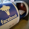 A private nap pod at Facebook Seattle — just one of the perks available to interns and employees at the company.