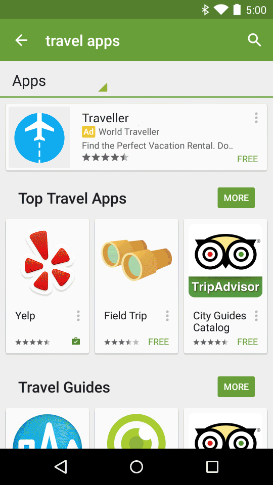 Pay To Play Google Adds Advertising To Android App Store