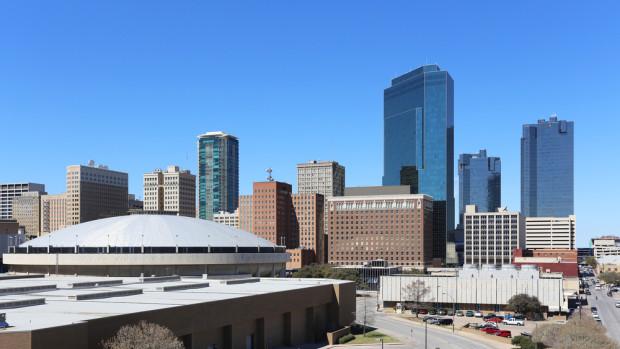 Fort Worth. Photo via Shutterstock.