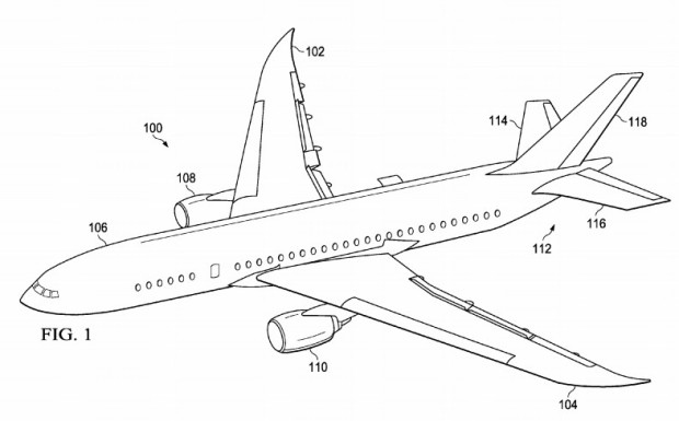 boeing files patent for 3d