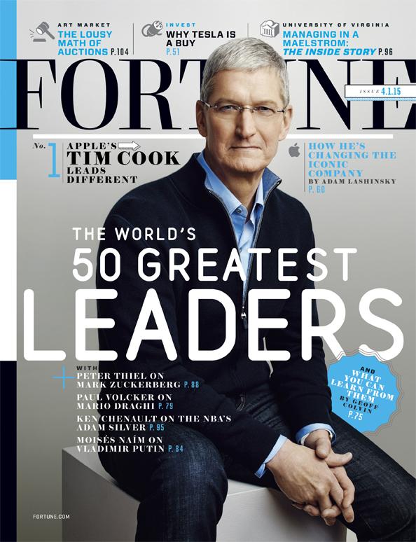 Fortune 杂志——敦马哈迪被评为第47位世界最伟大领袖