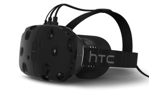 The HTC Vive headset