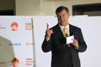 Dallas Mayor Mike Rawlings, formerly the CEO of Pizza Hut, speaks at Dallas Startup Week on Tuesday.
