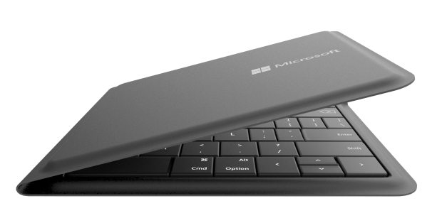 Microsoft-Universal-Foldable-Keyboard-partially-open