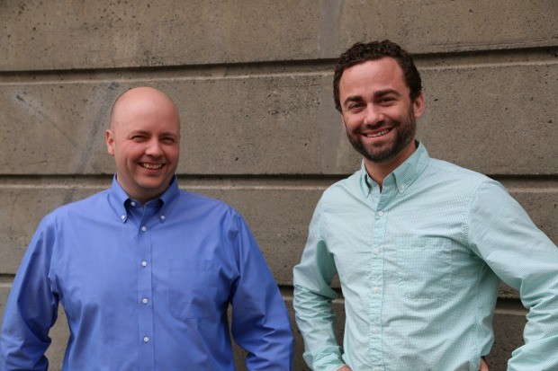 Remitly co-founders Josh Hug and Matt Oppenheimer.