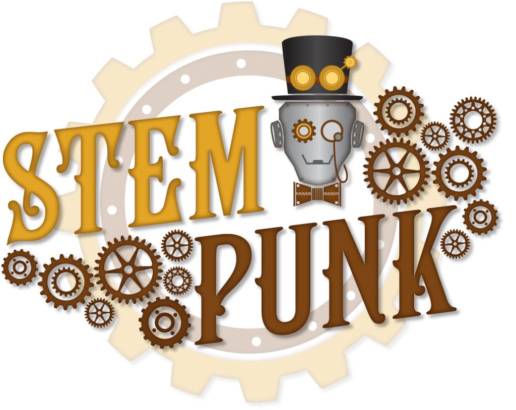STEMpunk Logo with Gear