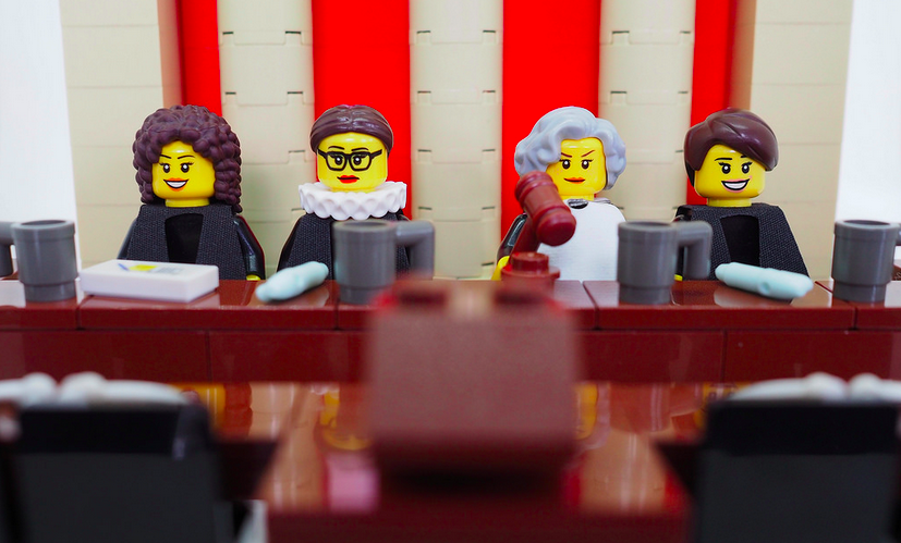 Cool Lego lady Supreme Court Justices honor International Women's
