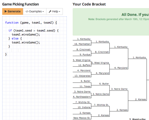 March Madness coding contest: Develop your own bracket and win an ...