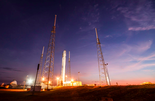 Photo via SpaceX/Falcon 9 Vertical