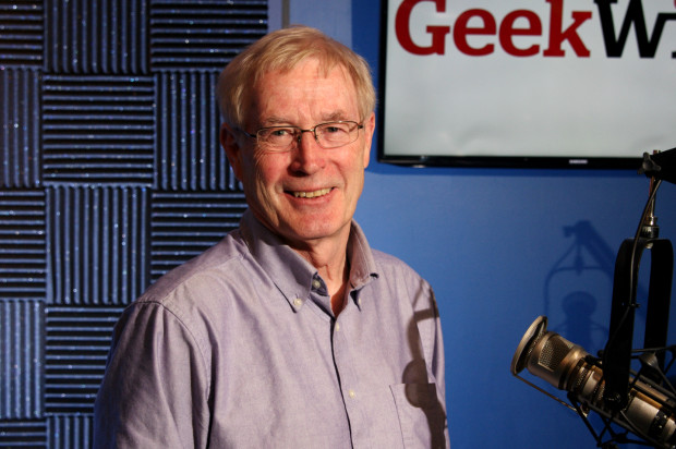 Tony Hey, former Microsoft Research Vice President, author of 'The Computing Universe'
