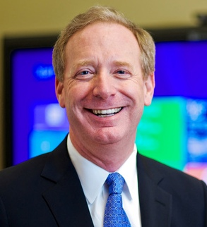 Brad Smith, Microsoft president and chief legal officer.