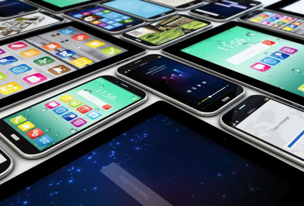 Mobile devices. Photo via Shutterstock