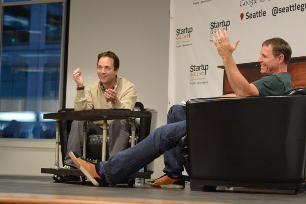 Zillow CEO Spencer Rascoff interviewed by Mike Grabham at Startup Grind, hosted at Moz.