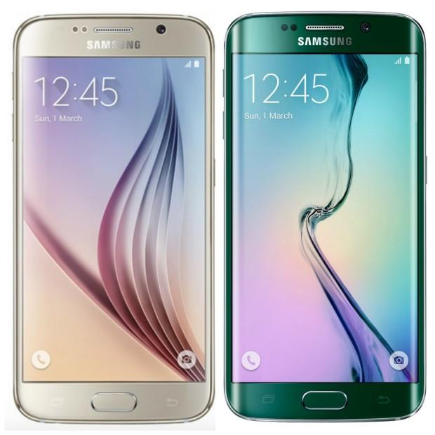 Samsung's Galaxy S6 and Galaxy Edge 6.