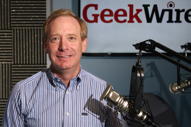 Microsoft President Brad Smith.