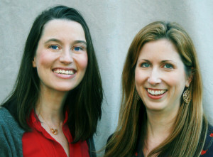 Malorie Catchpole and Jennifer Muhm of buddingSTEM