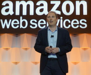 Andy Jassy, senior vice president of AWS (Photo: GeekWire)