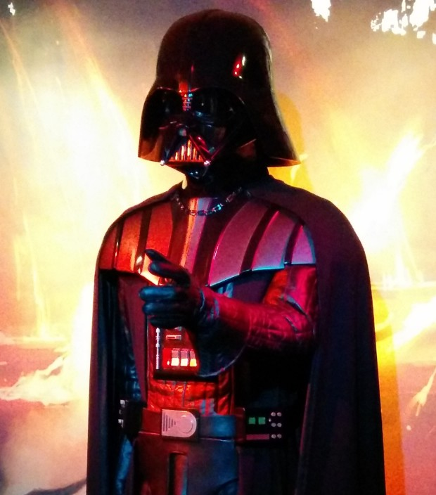 Darth Vader in the EMP exhibit, Star Wars and the Power of Costume