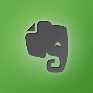 Evernote Twitter logo