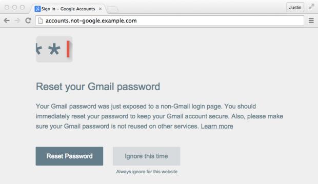 Google phishing_caught