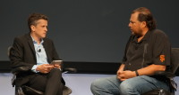 Box CEO Aaron Levie and Salesforce CEO Marc Benioff