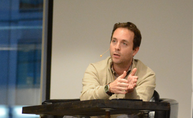 Zillow CEO Spencer Rascoff speaking at a recent event in Seattle