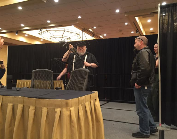 Photo of George R.R. Martin at Norwescon