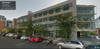 Northeastern now occupies 10,000 square feet of space in this Terry-Thomas building. Photo via Google StreetView.