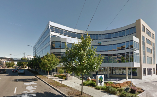 Big Fish Games' current headquarters at 333 Elliott in Seattle.