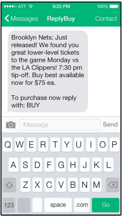 Powered by text messaging, this mobile ticketing startup is