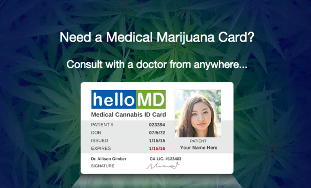 Getting your medical marijuana card may become as easy as going ...