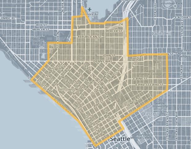 Zirx's coverage in Seattle.