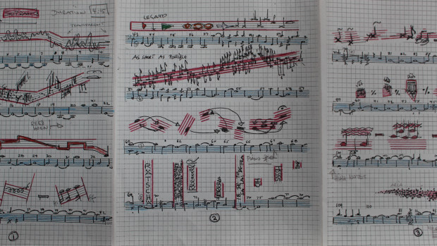 Not your typical musical score (Image: Seattle Symphony)