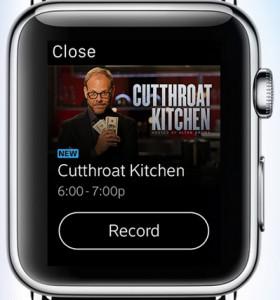 Xfinity Apple Watch app