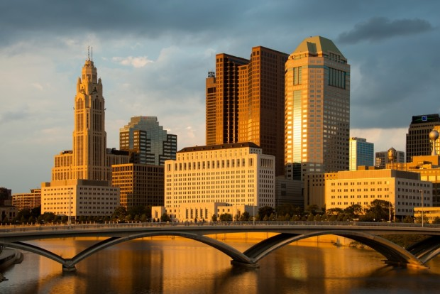 Columbus, Ohio skyline. Photo: Shutterstock