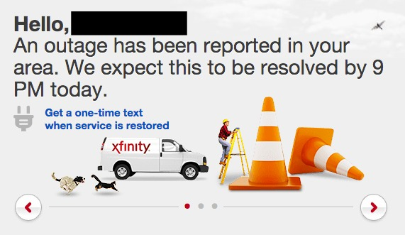 Comcast suffers outage in Seattle due to damaged fiber optic line ...