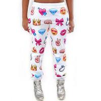 emoji jogger pants