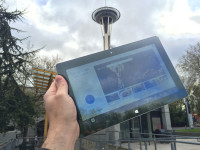 ipad space needle