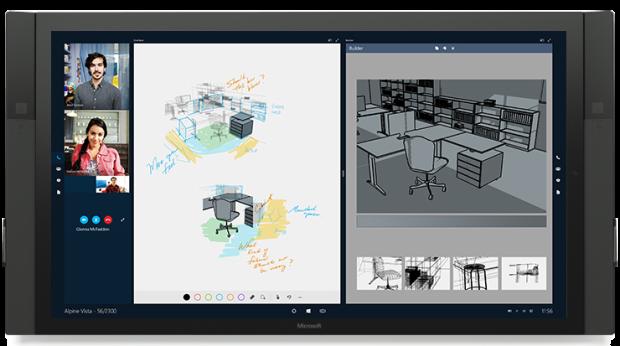 Microsoft's Surface Hub.